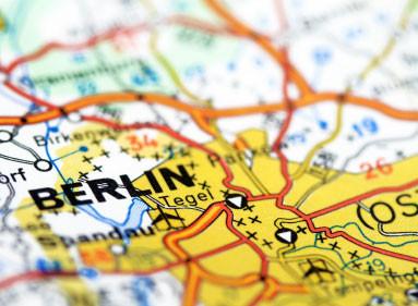 Die einst geteilte Stadt Berlin
