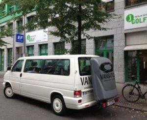 Van with Golfbox